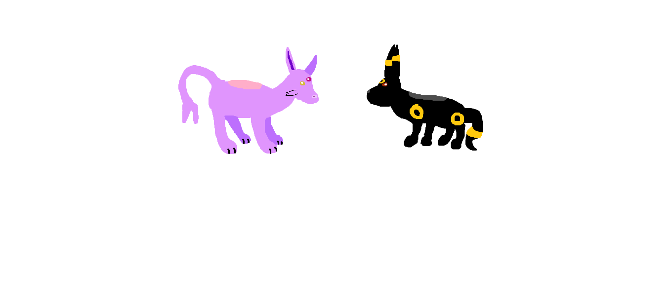 umbreon and espeon hd - photo #8