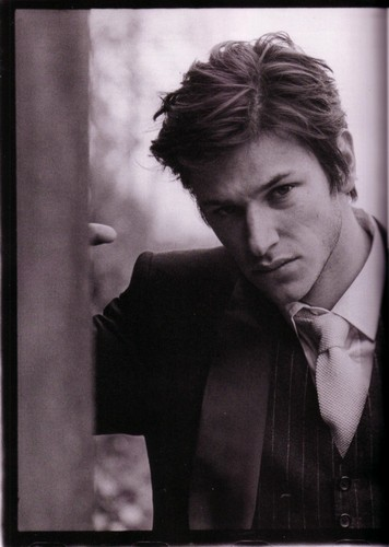 Gaspard Ulliel wallpaper containing a business suit titled gaspard ulliel