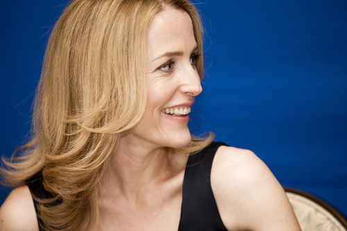 gillian anderson 'Moby Dick press conference'