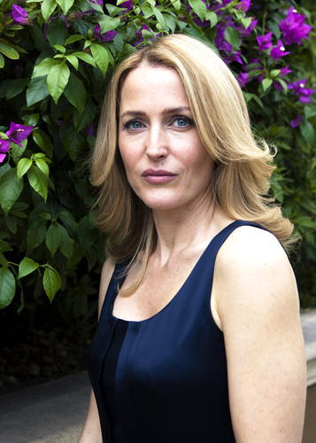 gillian anderson ' Moby Dick press conference'