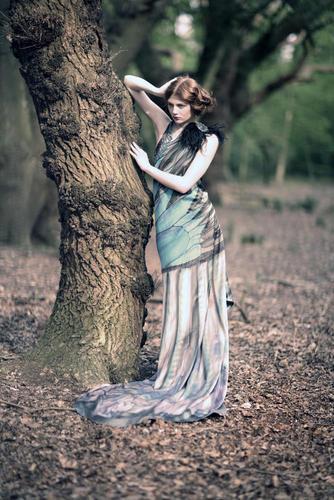 girl and the cây