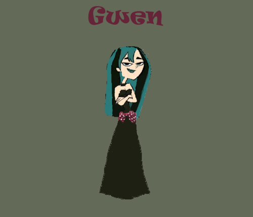 gwen in shes's prom night