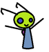 invader ric ;) - invader-zim-fancharacters icon
