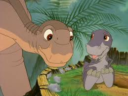 littlefoot and chomper