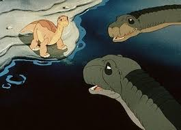 littlefoot and his grandparents