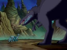 littlefoot and the sharptooth