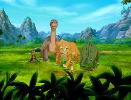 littlefoot,cera,ducky,petrie & spike