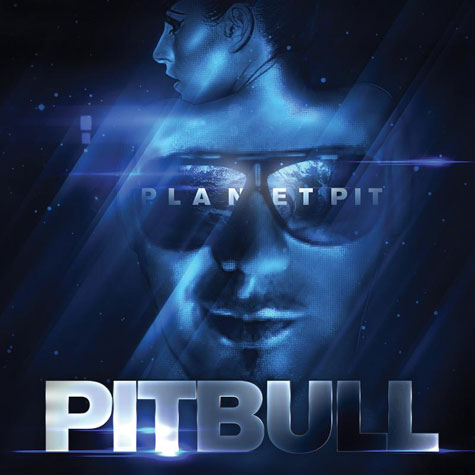 Pitbull (rapper) wallpaper called planet pit album cover