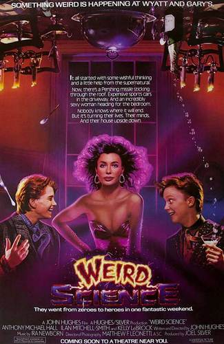 promo weird science movie poster