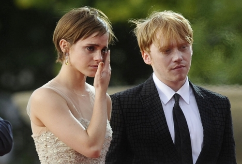 Romione images rupert grint+Emma Watson wallpaper and ...