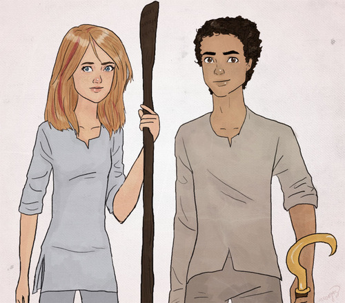 The Kane Chronicles 壁纸 titled sadie and carter