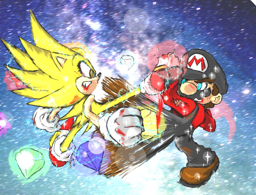 Ricardo98 Images Sonic Vs Mario Final Round Hd Wallpaper And