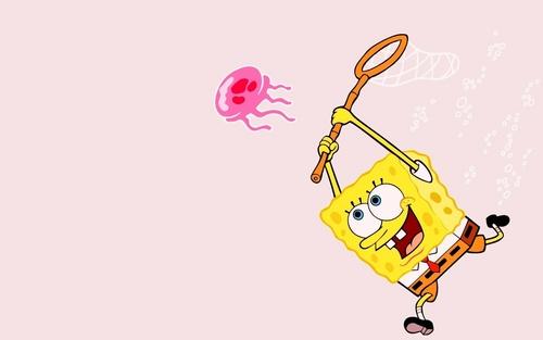 Spongebob Squarepants پیپر وال called spongy