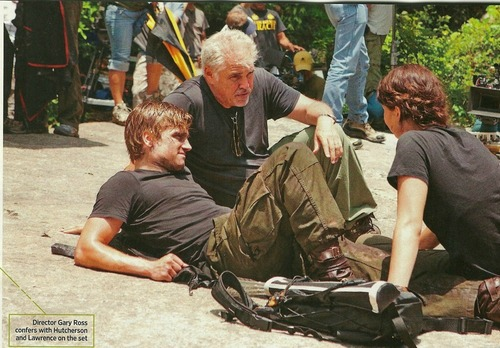 the Hunger Games: On Set