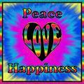 tye dye - peace-love-and-happiness photo