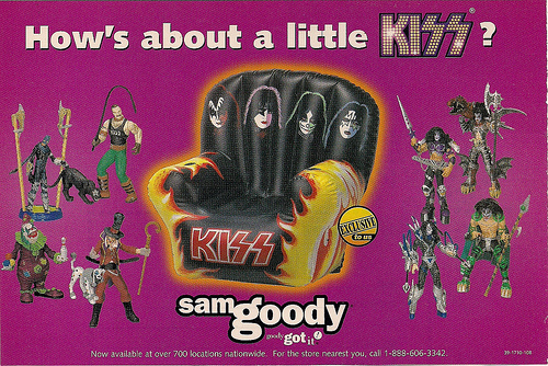 1998 Kiss Inflatable Chair