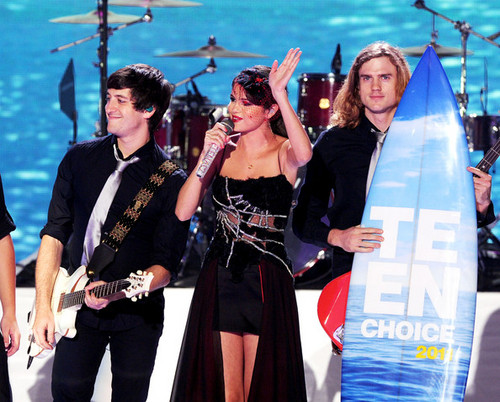 2011 Teen Choice Awards - onyesha