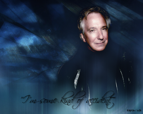 Alan Rickman wolpeyper called Accident
