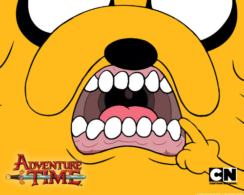 Adventure time - Jakes teeth