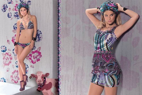 Agua Bendita 2012 Swimwear Photoshoot