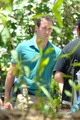 Alex and Terry O'Quinn on the set of Hawaii Five-0 - August 5
