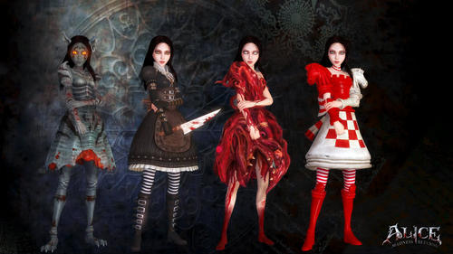 Video Games achtergrond titled Alice Madness Returns