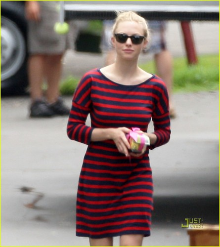 Amanda Seyfried Shows Her Stripes