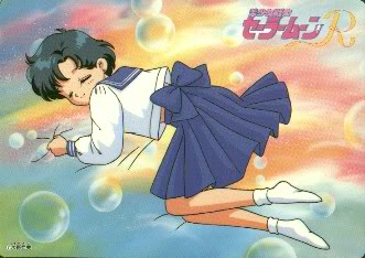 Sailor Mercury wallpaper possibly containing animê entitled Ami Mizuno