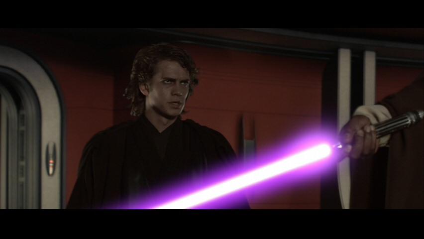 Anakin and Master Windu