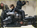 Anne Hathaway as 'Dark Knight Rises' Catwoman - FIRST LOOK!