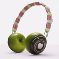 táo, apple Headphones