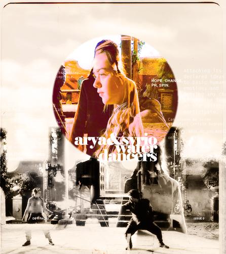 Arya & Syrio