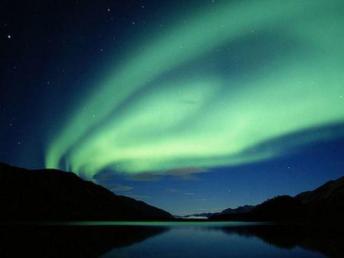 Aurora Borealis mga litrato