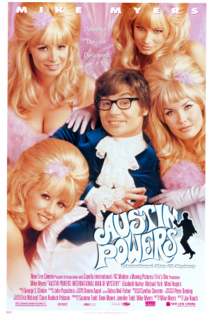 Austin Powers Poser Fembots