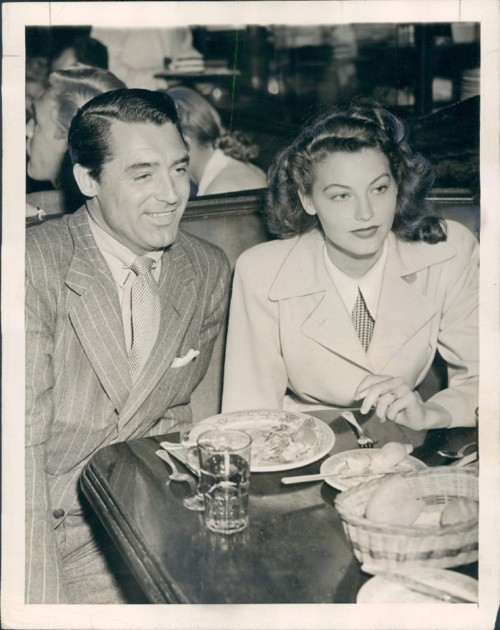 Ava Gardner and Cary Grant
