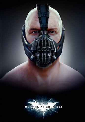 Bane  - the-dark-knight-rises Fan Art