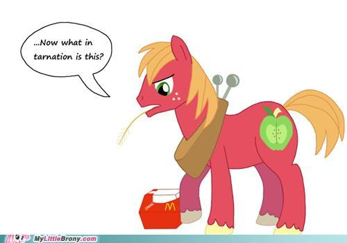 My Little Pony Friendship is Magic wallpaper with anime titled Big Mac....