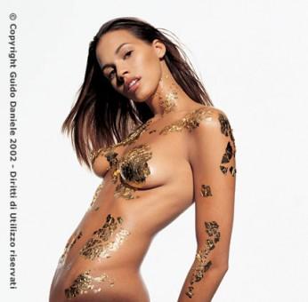 Airbrush nude women
