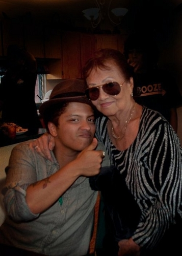 Bruno Mars & Grandmother