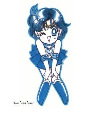Чиби Sailor Mercury