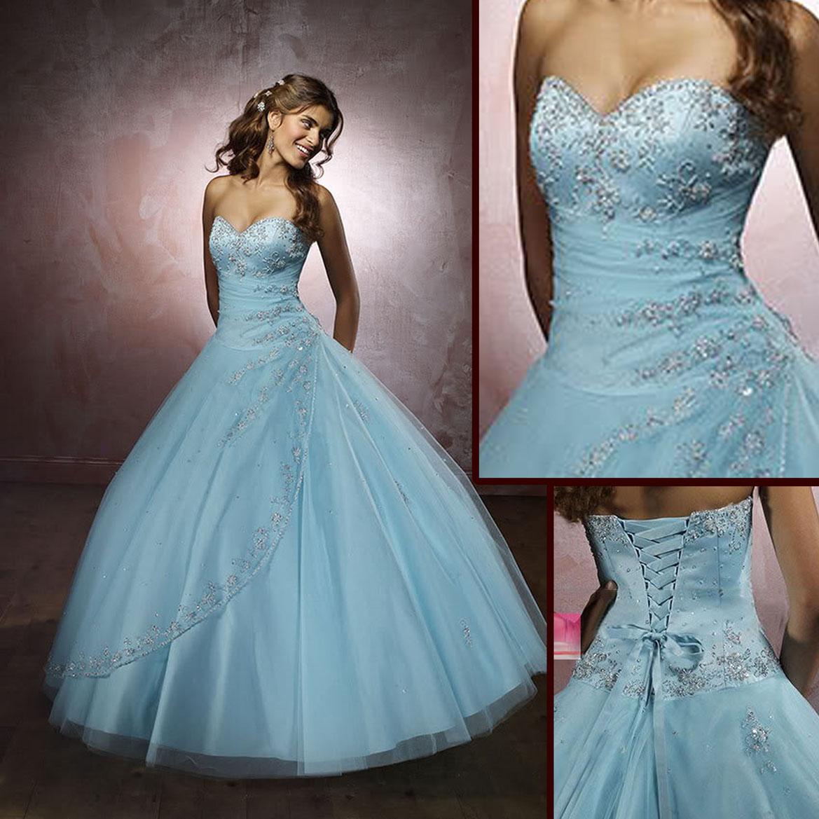 Wedding Dresses Baby Blue 17 Awesome