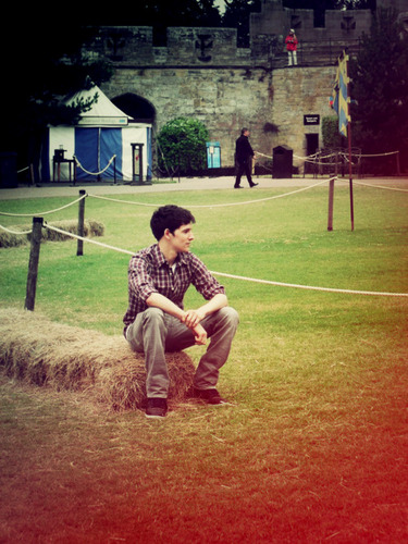 Colin morgan warwick castello