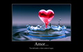 Corazon de Agua - love-quotes wallpaper