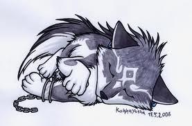 Cute Little serigala, wolf Link