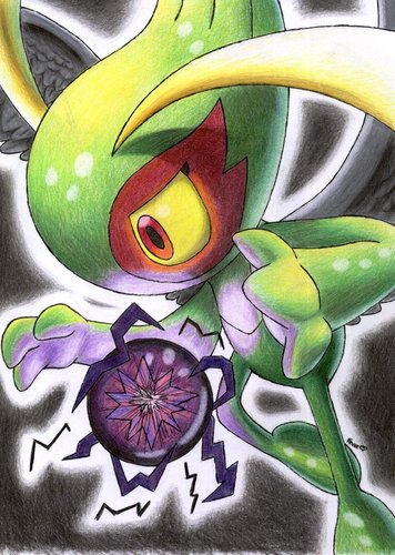 Pokémon wallpaper called Dark Celebi