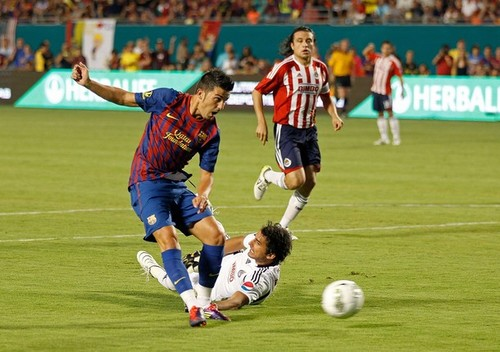 David Villa (FC Barcelona - CD Guadalajara)