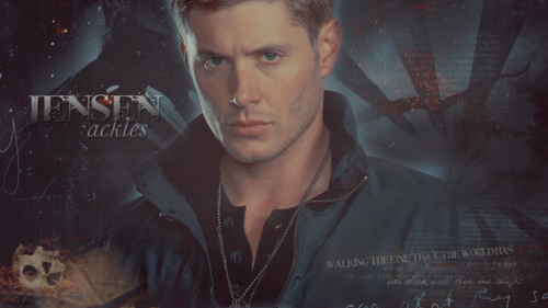 Dean Winchester wallpaper probably containing a concert and anime titled Dean and Sam