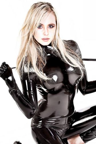 Diana Vickers hình nền possibly with a hip boot and a legging titled Diana in Catsuit