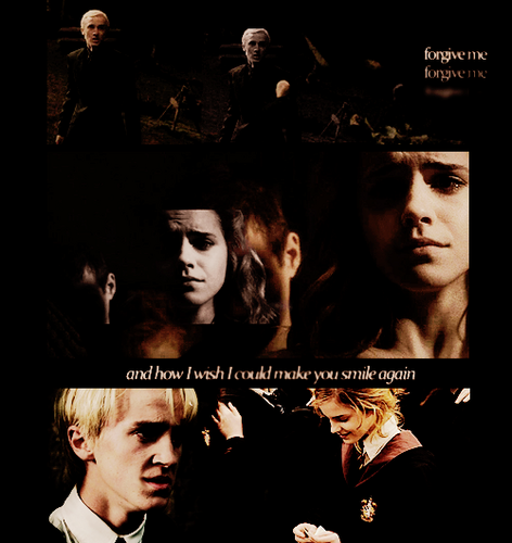Dramione wallpaper possibly containing anime called Dramione<3