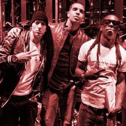 Eminem, Drake, Lil Wayne